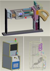 在线式充电座插拔力寿命试验机