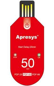 Apresys  PDF一次性温度记录仪