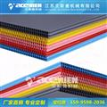PP中空包装板生产线 中空板包装板设备 pp中空格子板设备