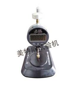 美特斯TSY-33型糙面土工膜毛糙高度测定仪厂家,土工膜毛糙高度测定仪报价