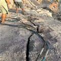 矿山开挖代替放炮开采岩石设备
