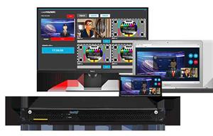 LiveMIX Cloud远程互联演播室多通道视频连线制作