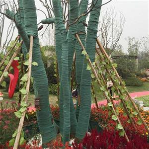 裹树绿色布-生产供应